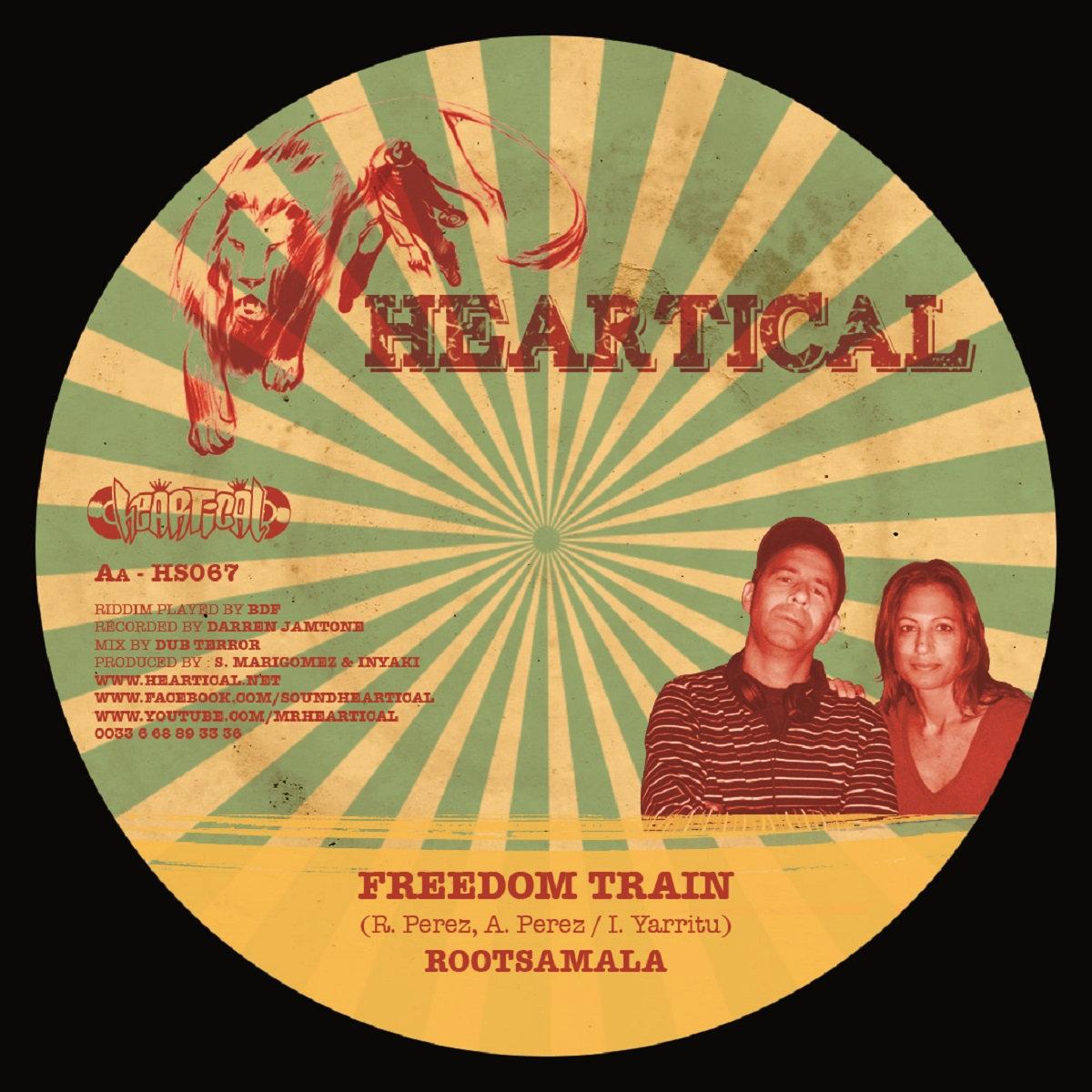 Freedom train rootsamala