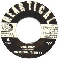 One Way Admiral Tibett